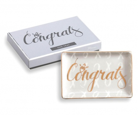 Ukrasni pladanj Congrats