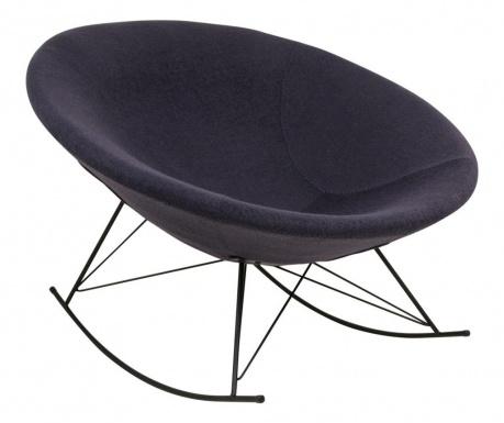 Krzesło na biegunach Kisa Felt Dark Grey