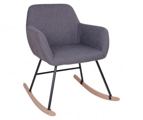 Krzesło na biegunach York Grey