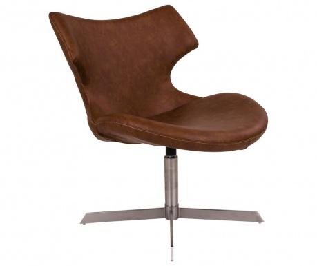 Otočná stolička Zambi Brown