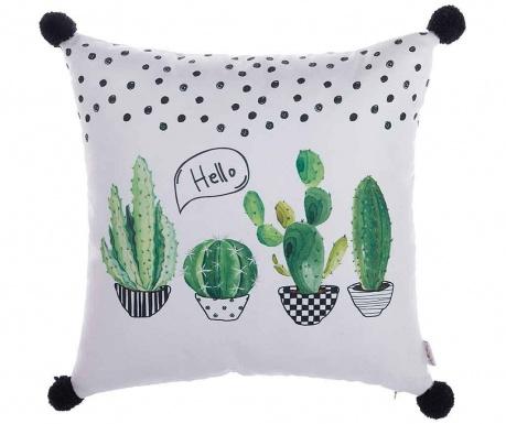 Poszewka na poduszkę Hello Cactus 43x43 cm
