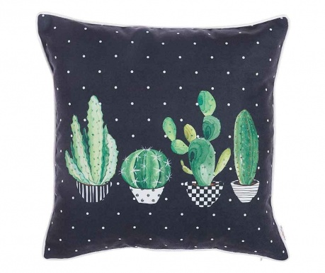Poszewka na poduszkę Night Cactus 43x43 cm