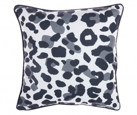 Fata de perna Animal Print Black and White 43x43 cm