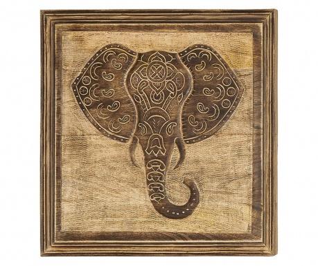 Tablou Elephant 53x53 cm