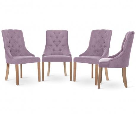 Set 4 scaune Jalouse Maison Chiara Lily