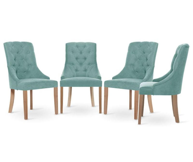 Set 4 scaune Jalouse Maison Chiara Mint