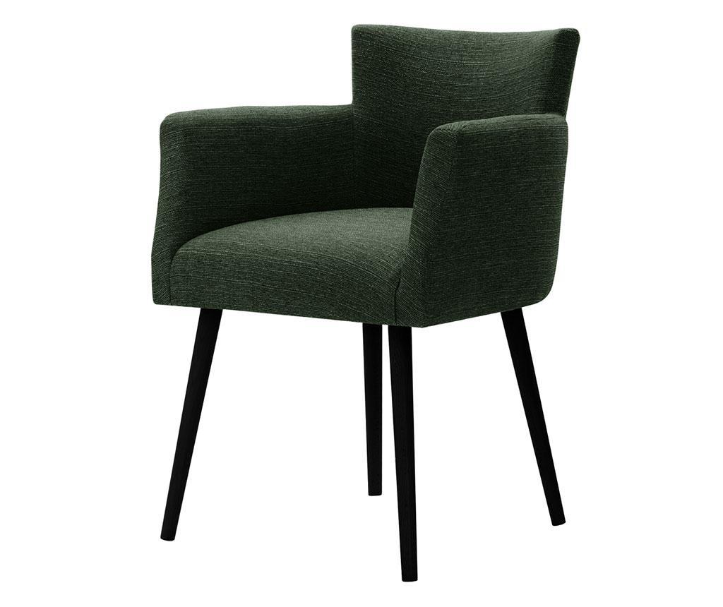 Set 4 scaune Corinne Cobson Home Billie Dark Green
