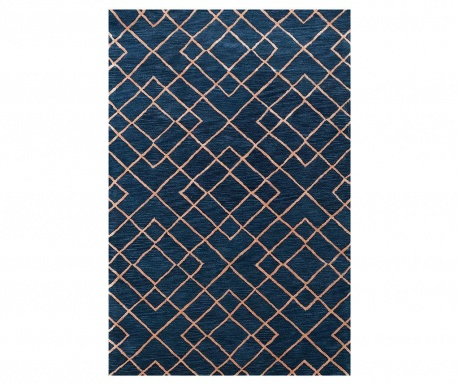 Dywan Highway Dark Blue 122x183 cm
