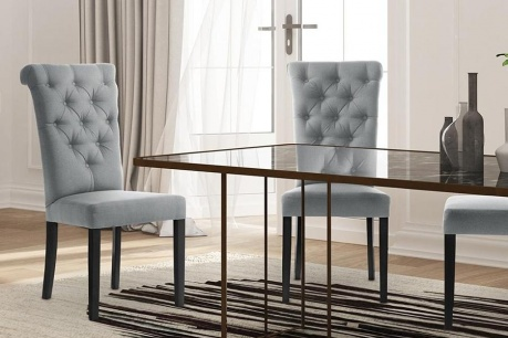 Eleganckie krzesła