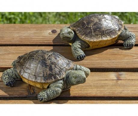 Sada 2 záhradných dekorácií Turtles