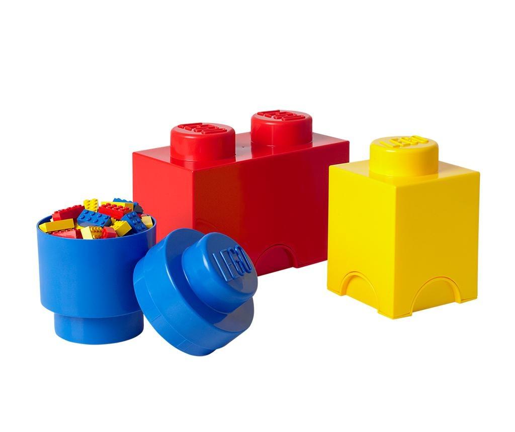 Set 3 kutije s poklopcem Lego All