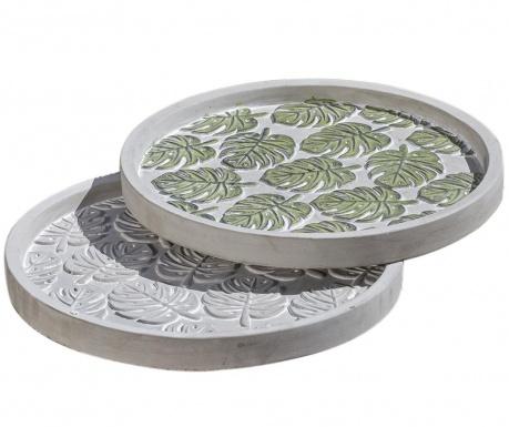 Set 2 platouri decorative Tasha