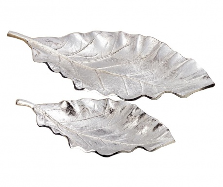 Set 2 platouri decorative Leaf Galen