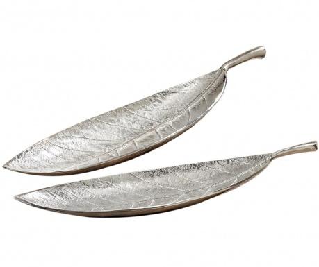 Set 2 platouri decorative Leaf Lance