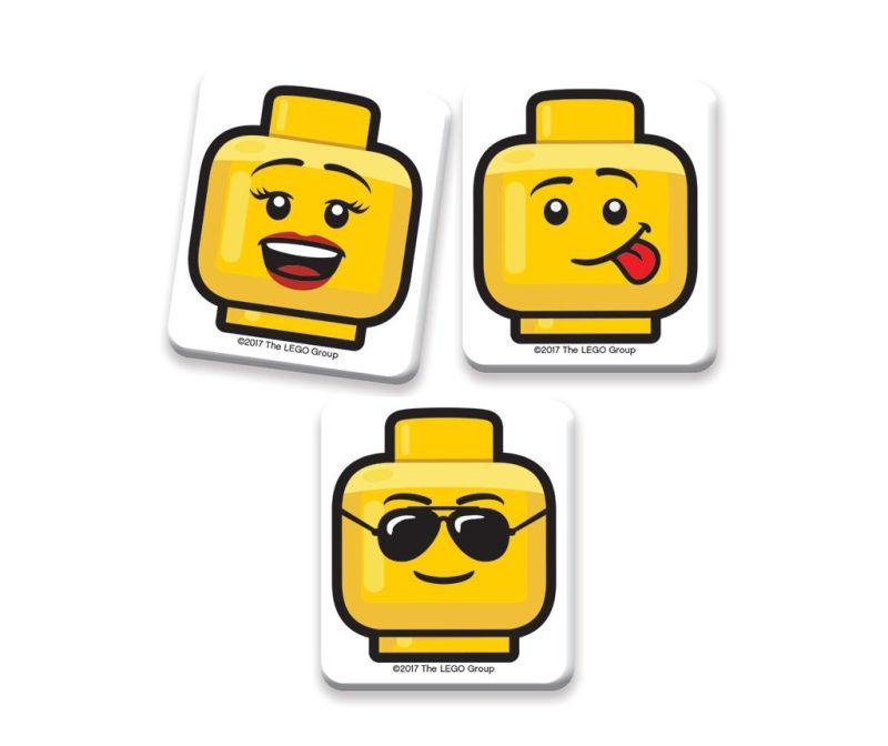 Set 3 gumice za brisanje Lego