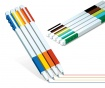 Set 9 pixuri cu gel Lego Color