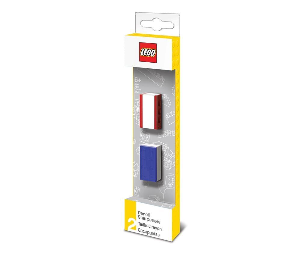 Set 2 ascutitori pentru creioane Lego