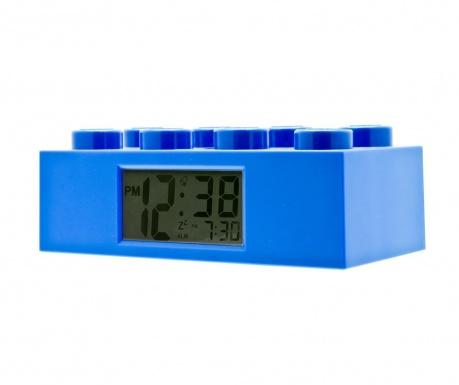 Budilka Lego Brick Blue