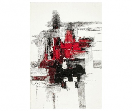 Covor Imogen Black and Red 120x180 cm