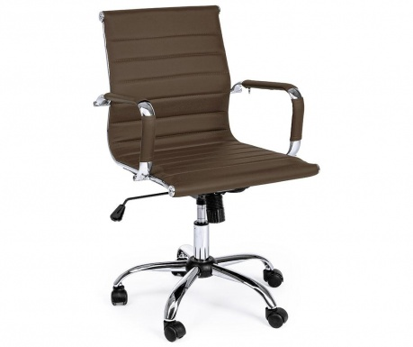 Kancelářská židle Praga Brown