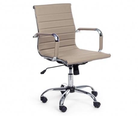 Kancelářská židle Praga Taupe