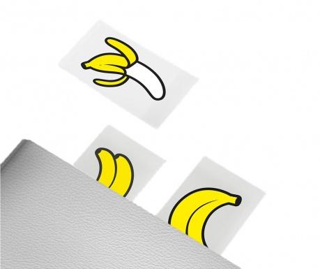 Sada 100 značek na stránky Banana