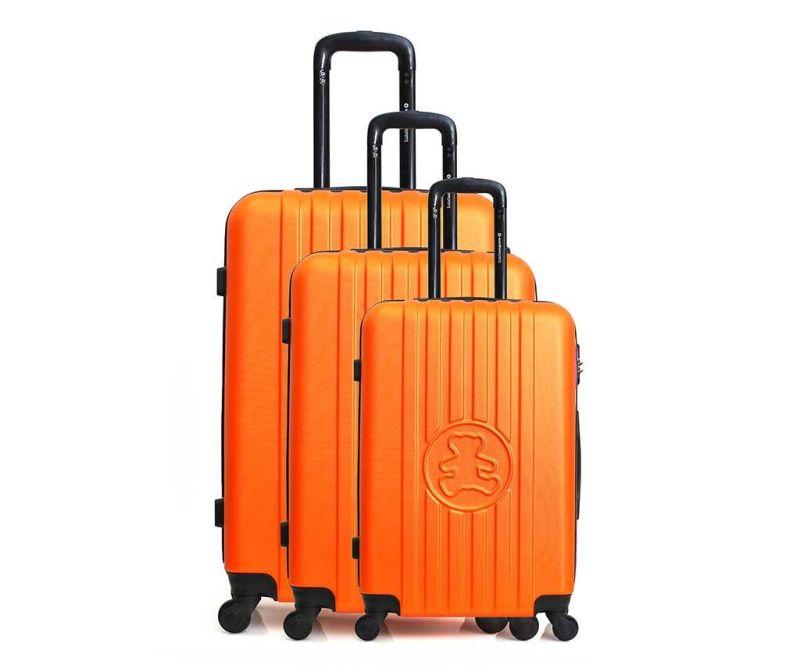 Set 3 trolere Lulu Bear Orange
