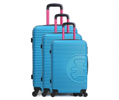 Set 3 trolere Big Bear Blue