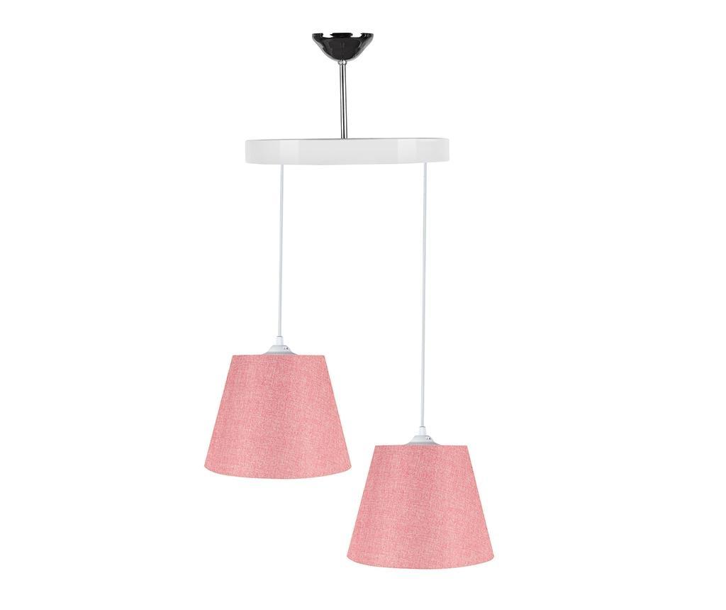Lustra Alma Grainy Pink White