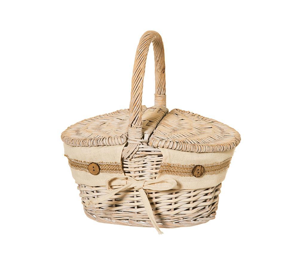 Cos pentru picnic Go Out - L'arte di Nacchi, Crem