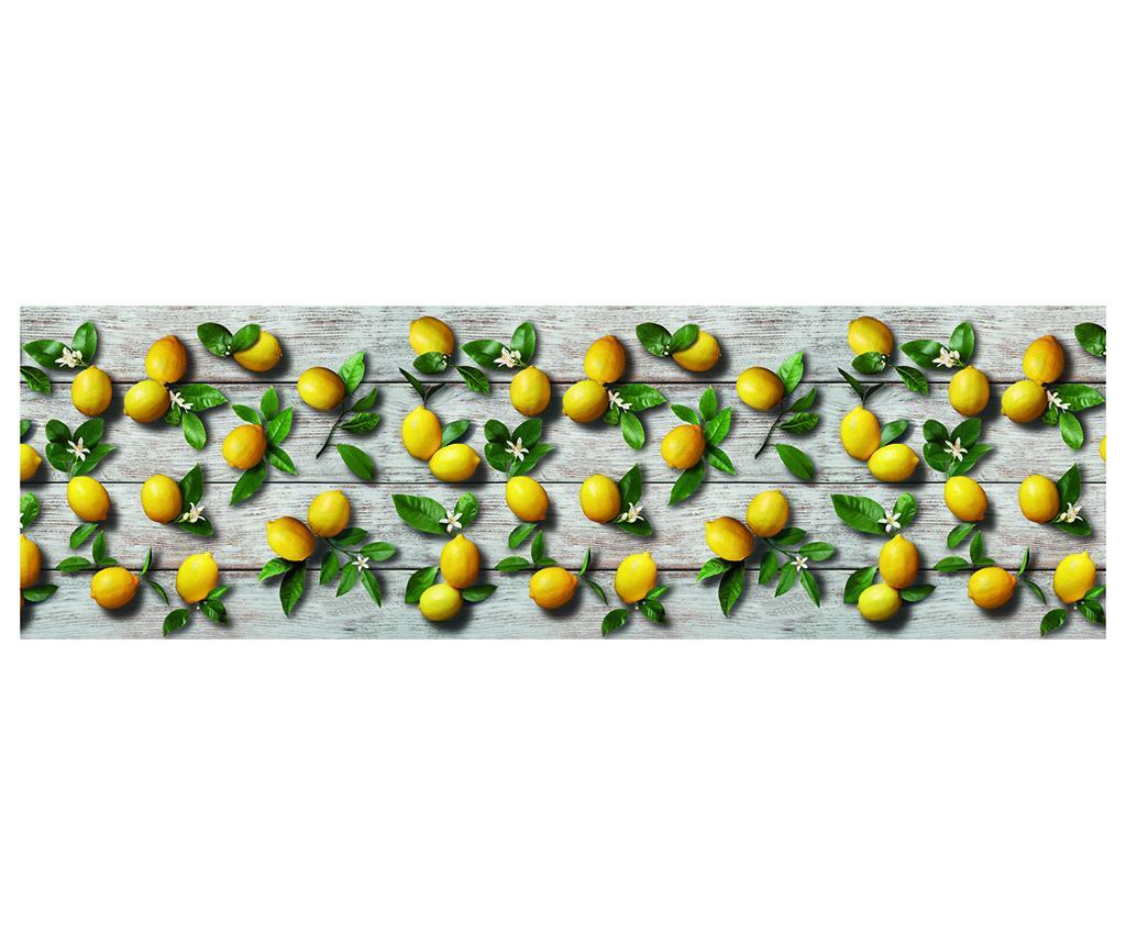 Covor Limoni 58x115 cm - Webtappeti, Galben & Auriu,Verde