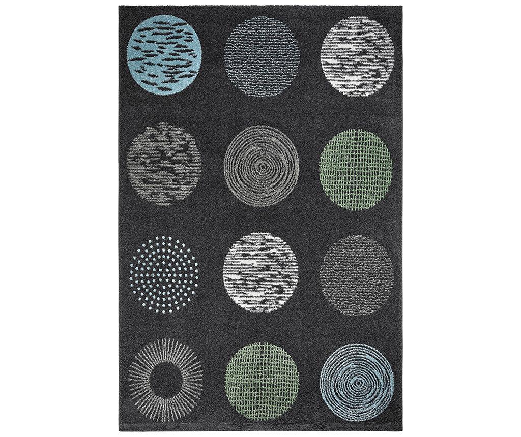 Covor My Bronx Anthracite Dots 80x150 Cm