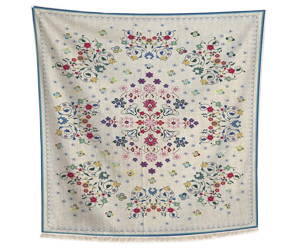Carpeta Flowers 140x140 cm - Madre Selva, Multicolor