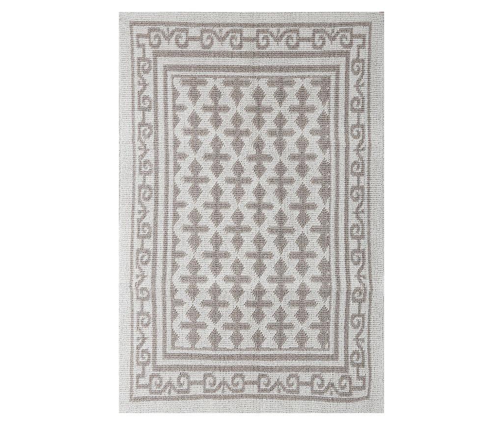 Covor Edmund Taupe 80x150 cm - Sesli Home, Gri & Argintiu