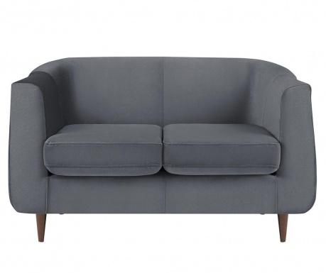 Canapea 2 locuri Glam Grey