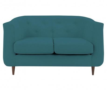 Canapea 2 locuri Love Turquoise