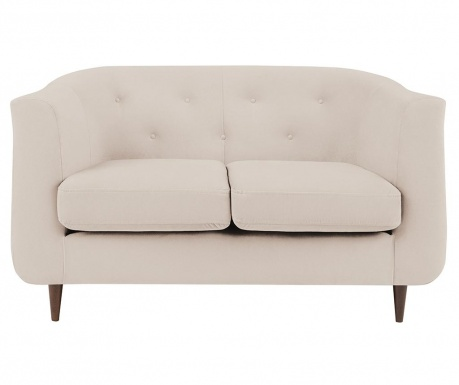 Canapea 2 locuri Love Cream