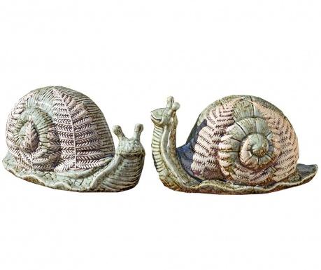 Комплект 2 градински декорации Ilse Snail