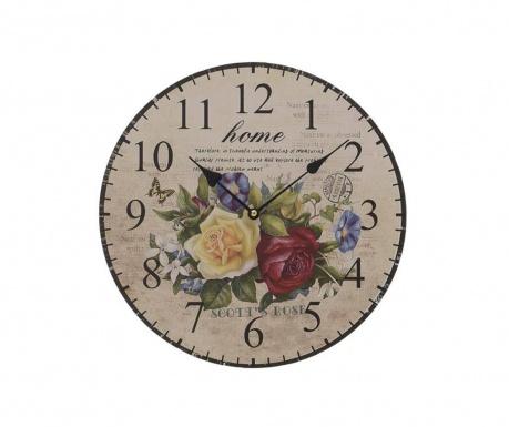 Zegar ścienny Flowers