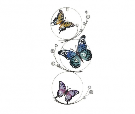Stenska dekoracija Butterfly