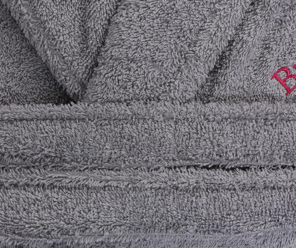 Mπουρνούζι μπάνιου unisex Austen Grey L/XL