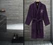 Halat de baie unisex Austen Purple XS/S