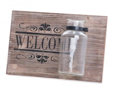 Nástěnná dekorace Welcome