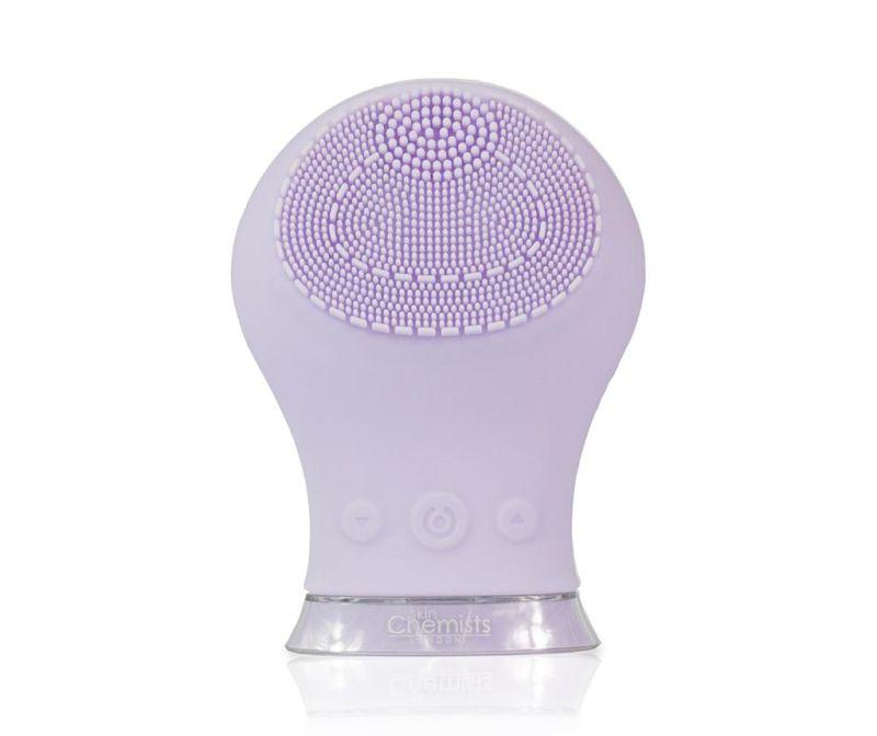 Električna krtača za masažo obraza Cleanse a Sonic Purple