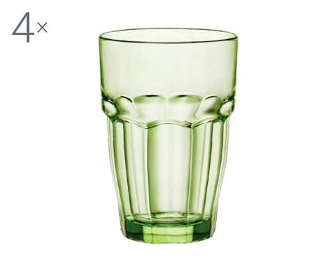 Set 4 čaše Rock Bar Mint 370 ml