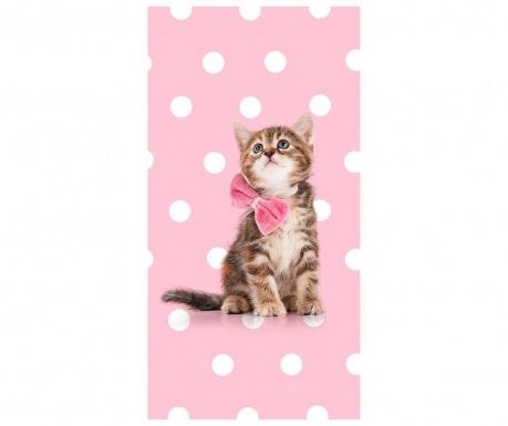 Sweet Cat Strandtörölköző 75x150 cm