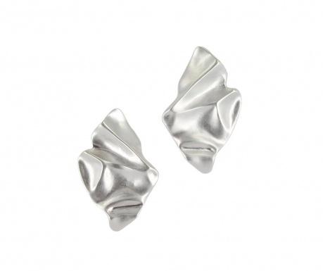 Kolczyki Flame Silver