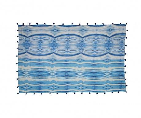 Chusta pareo Milena Blue 100x180 cm