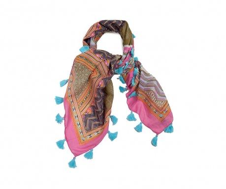 Apaszka Levita Pink & Blue 100x100 cm