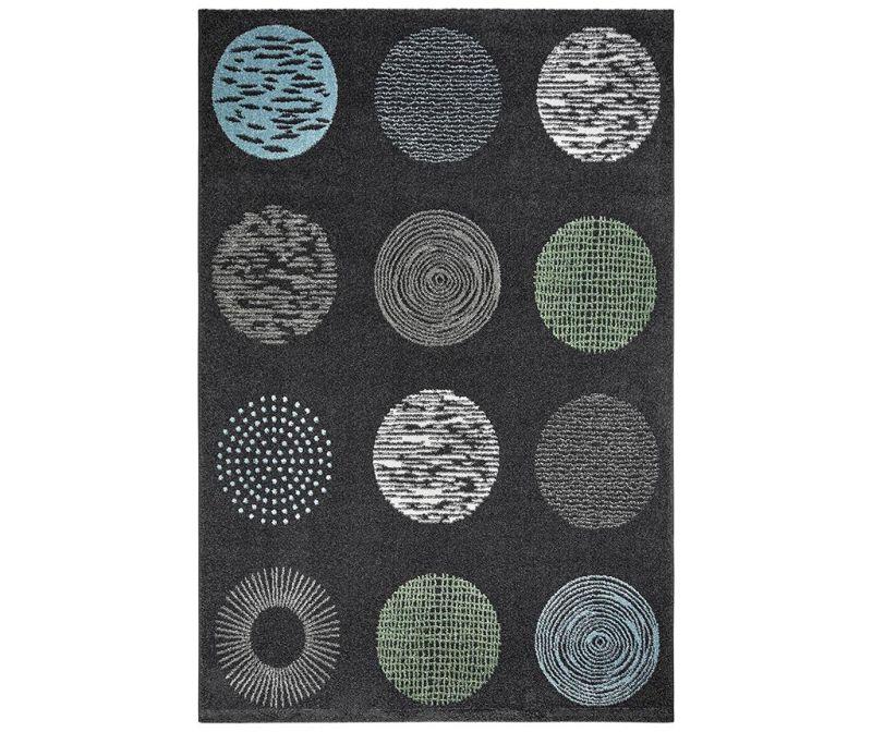 Килим My Bronx Anthracite Dots 80x150 см
